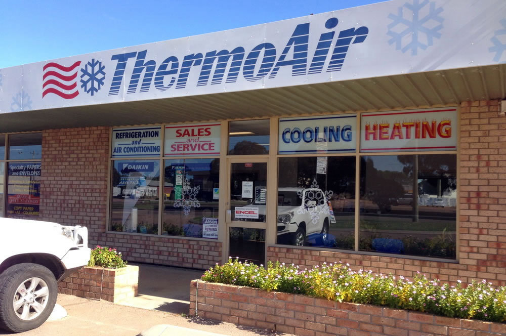 ThermoAir Shop Front Esperance